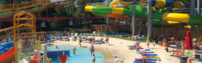 Holiday parks with waterpark