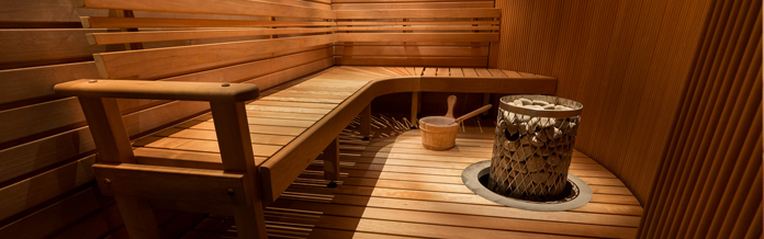 Holiday cottages with a sauna
