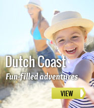 Holiday parks on the Dutch coast