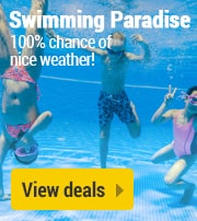 Holiday parks with a swimming paradise