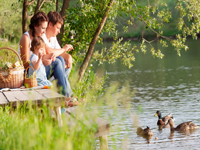Holiday parks near rivers and lakes