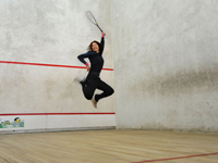 Holiday parks with squash courts