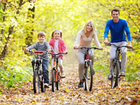 Holiday parks with bicycle rental