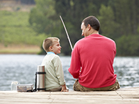 Holiday parks with fishing