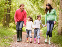 Holiday parks near hiking trails