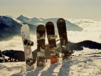 Popular ski resorts France