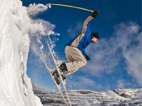 Popular ski resorts Austria