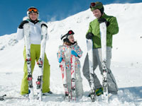 Holiday parks in ski resorts