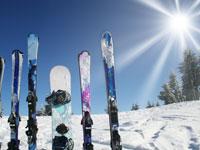 Popular ski resorts Germany