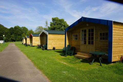 4-person mobile home/caravan Trekkershut