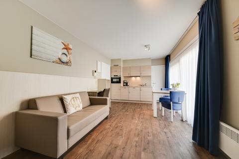 2-person apartment Studio Type 20 - Bedroom
