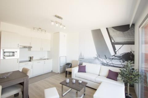 4-person apartment Zeezicht
