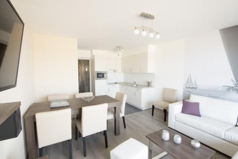 6-person apartment Zeezicht