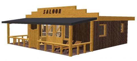 7-person mobile home/caravan Saloon Lodge