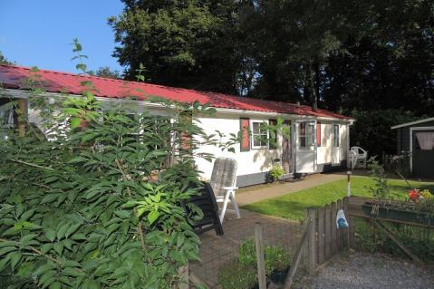 4-person mobile home/caravan Bonte Specht