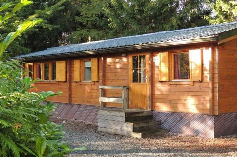 4-person mobile home/caravan Merel Wellness Comfort BP 142