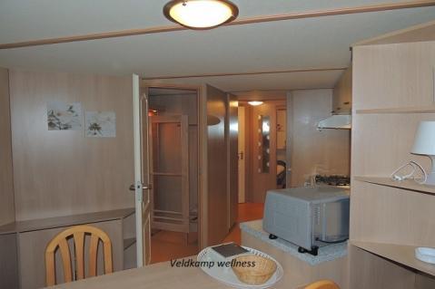 4-person mobile home/caravan Veldkamp Wellness