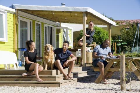 6-person mobile home/caravan Strandchalet Deluxe