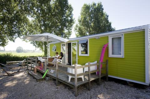 6-person mobile home/caravan Strandchalet Comfort