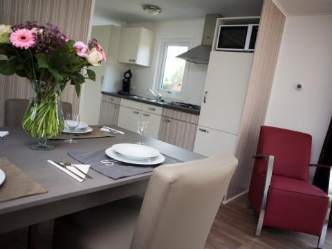 4-person mobile home/caravan Veluwelodge