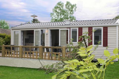 6-person mobile home/caravan Familie Lodge