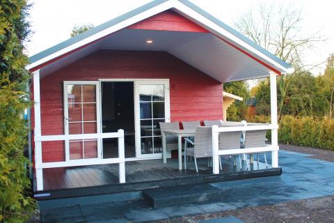 6-person mobile home/caravan Veluwelounge Wellness