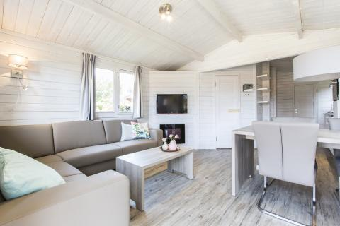 4-person mobile home/caravan Buitenverblijf Luxe