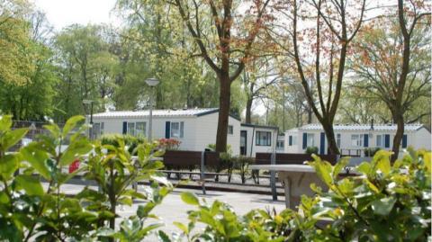 4-person mobile home/caravan Fortduin
