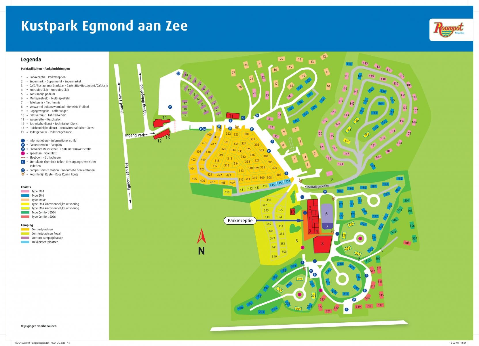 Roompot Kustpark Egmond aan Zee