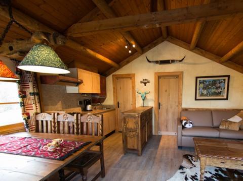 6-person mobile home/caravan (max 2 volw.) Cowboy cottage
