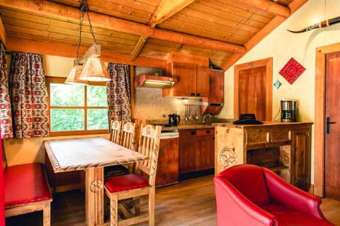 6-person mobile home/caravan (max. 2 adults 4 children) Cowboy Cottage
