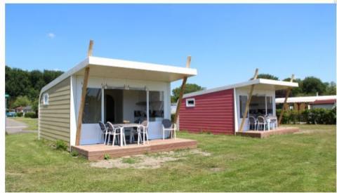5-person mobile home/caravan cabin Vlinder