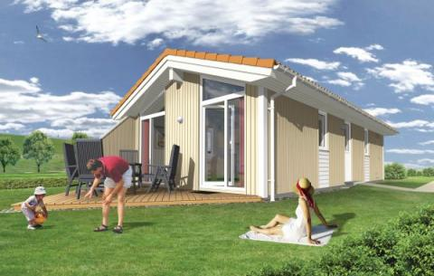 4-person holiday house Deichblick Wellness P