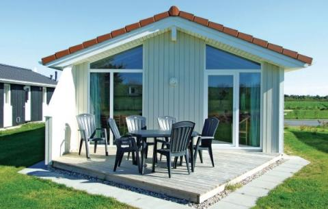 4-person holiday house Deichblick Wellness
